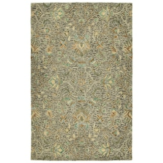 Bombay Home Ashton Hand-tufted Taupe Wool Indoor Area Rug (4' x 6')