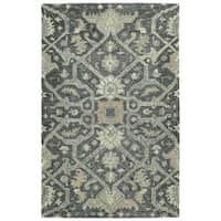 Hand-Tufted Ashton Graphite Wool Rug - 4' x 6'
