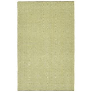 Indoor/Outdoor Eden Chevron Wasabi Polyester Rug - 3' x 5'