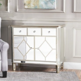 Torin Mirrored Cabinet by Christopher Knight Home