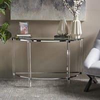 Irma Modern Glass Console Table by Christopher Knight Home