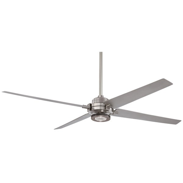 Minka aire spectre brushed nickel ceiling fan free shipping today minka aire spectre brushed nickel ceiling fan mozeypictures Image collections