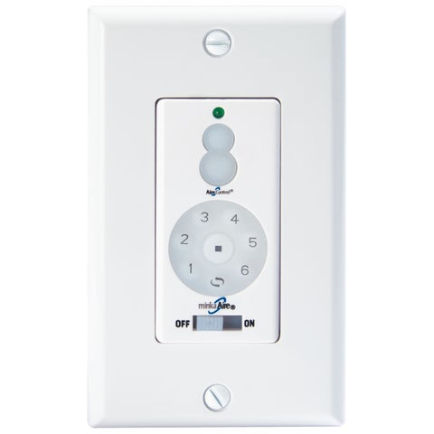 Minka Aire Dc Fan Wall Remote Control Full Function