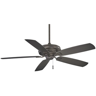 Minka Aire Sunseeker Silver Iron Finish 60-inch Outdoor Ceiling Fan
