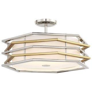 Minka Kovacs Levels Led Semi Flush (Convertible)