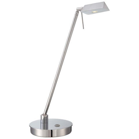 George'S Reading Room Chrome Table Lamp By George Kovacs