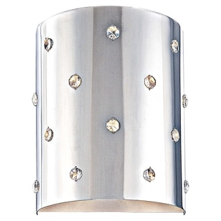 Bling Bling Chrome 1 Light Wall Sconce by George Kovacs