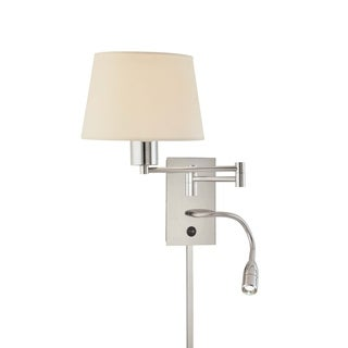 Minka Kovacs 1 Light Swing Arm Wall Lamp W/ Led Reading Lamp