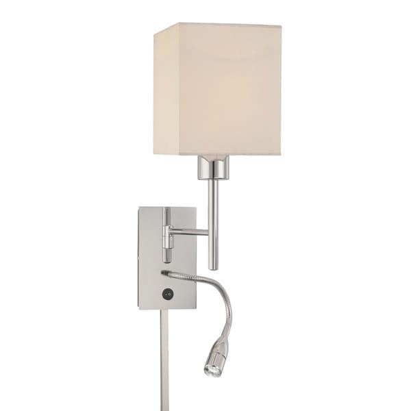 Minka Kovacs 1 Light Swing Arm Wall Lamp W Led Reading