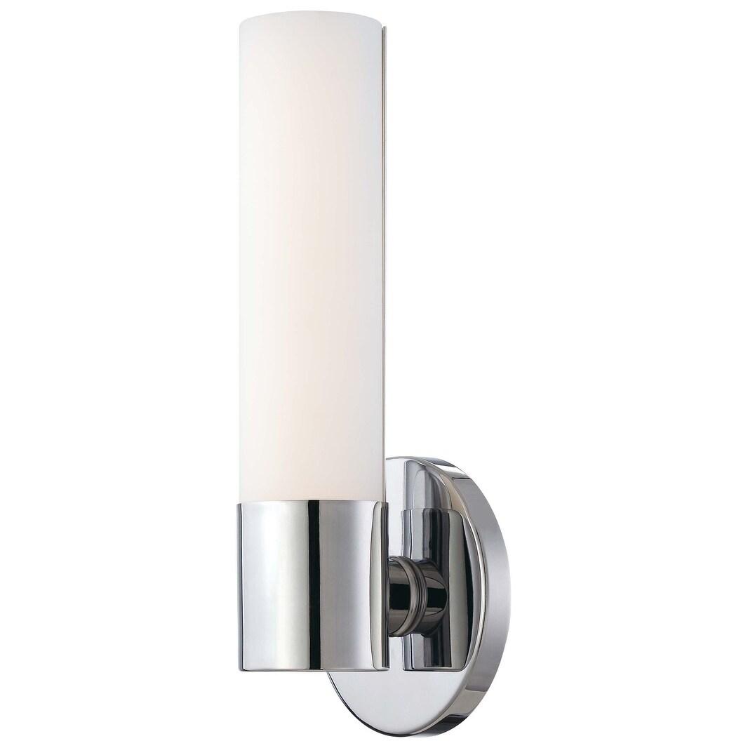 Minka George Kovacs Tube 2 Light Wall Sconce P5040-077 Chrome