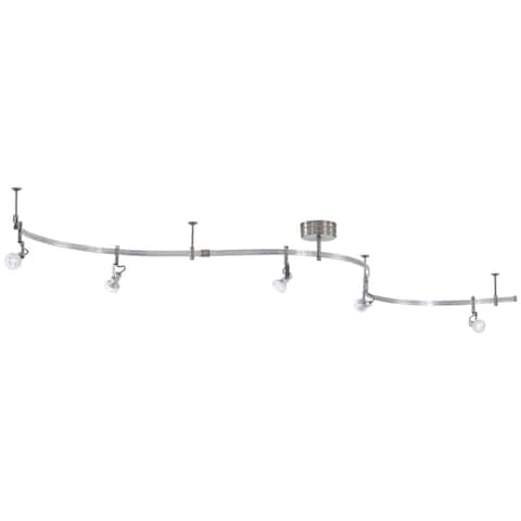 Gk Lightrail 5 Light Led Monorail Kit