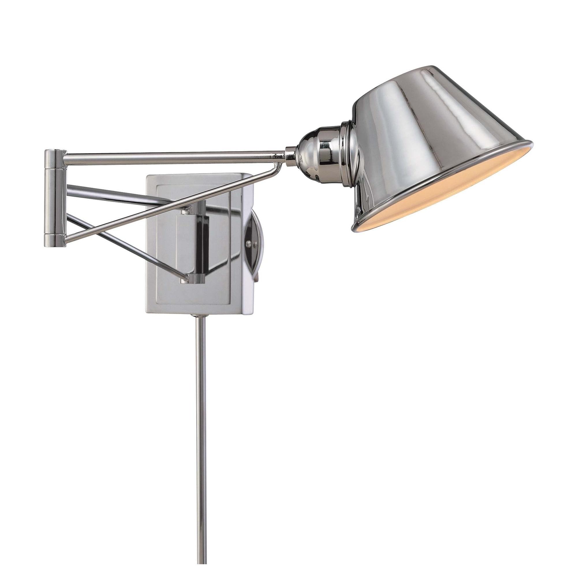 Minka Kovacs 1 Light Swing Arm Wall Sconce Overstock 18069049
