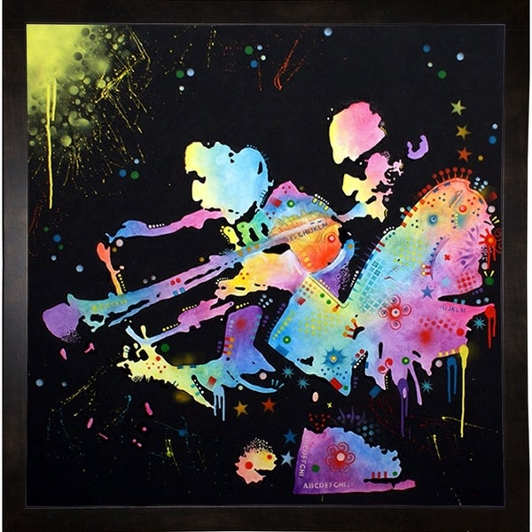 """Miles Coltrane Framed Print 7.5""""x7.5"""" by Dean Russo"""