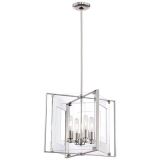Minka Kovacs Crystal Clear 4 Light Pendant