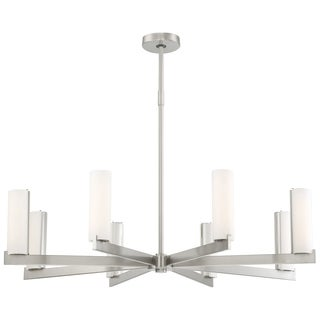 Minka Kovacs Tube 8 Light Led Chandelier