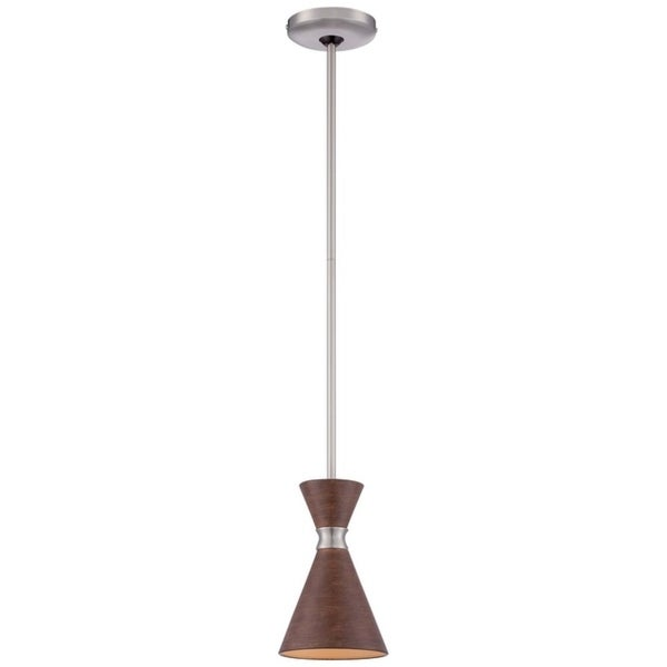 Minka Kovacs Conic Steel 1-light Mini Pendant