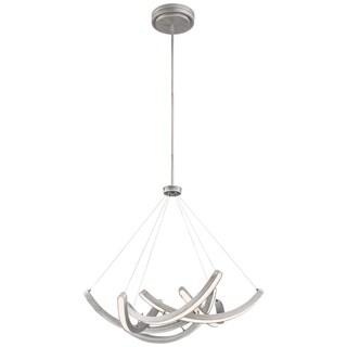 Minka Kovacs Swing Time Led Pendant - Silver