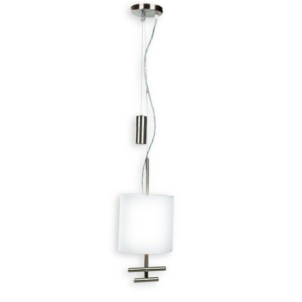 Minka Kovacs Counter Weights 1 Light Mini Pendant - Silver