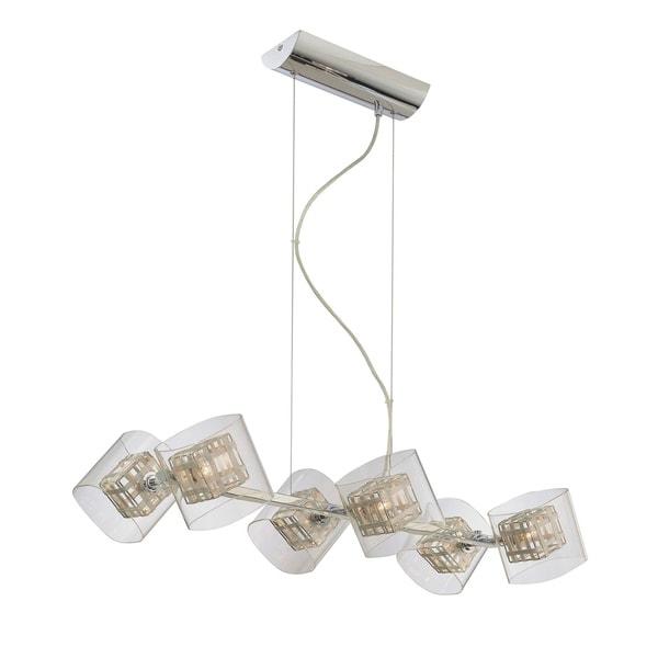 Minka Kovacs Jewel Box 6 Light Island Light