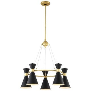 Buy george kovacs chandeliers online at overstock our best minka kovacs conic 5 lt chandelier mozeypictures Choice Image