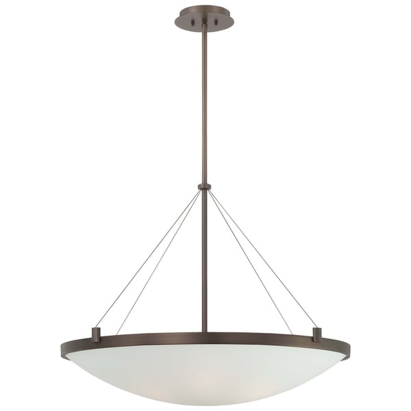 Minka Kovacs Suspended 6 Light Pendant - Bronze