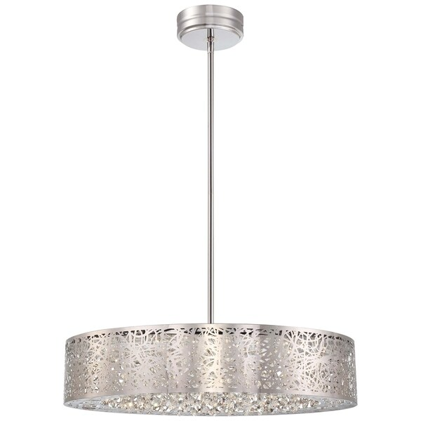 Minka Kovacs Hidden Gems Led Pendant - Chrome