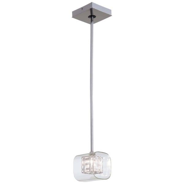 Minka Kovacs Jewel Box 1 Light Mini Pendant - Chrome