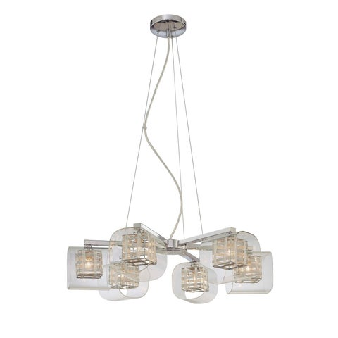 Minka Kovacs Jewel Box 6 Light Chandelier