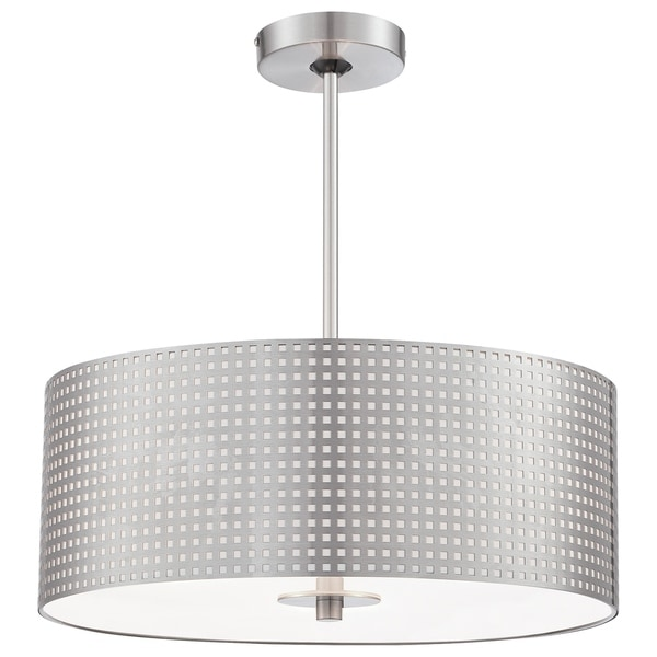 Minka Kovacs Grid 3 Light Drum Pendant