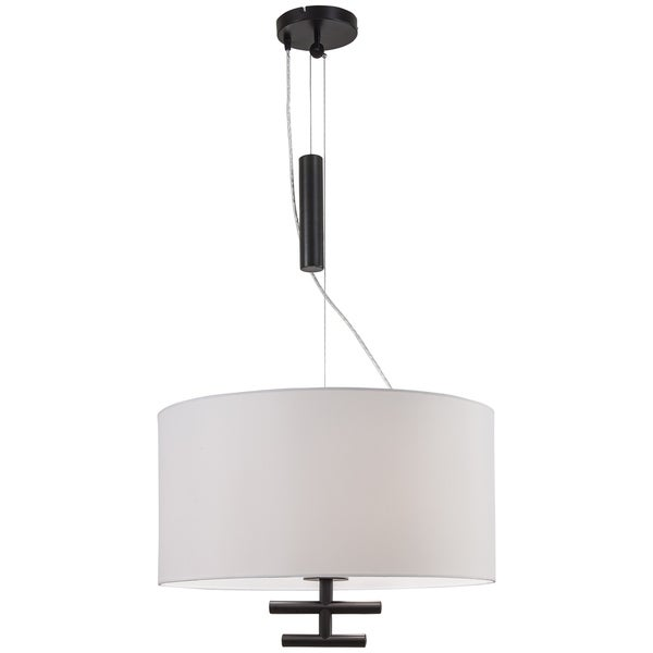 Minka Kovacs Counter Weights 3 Light Pendant - Silver