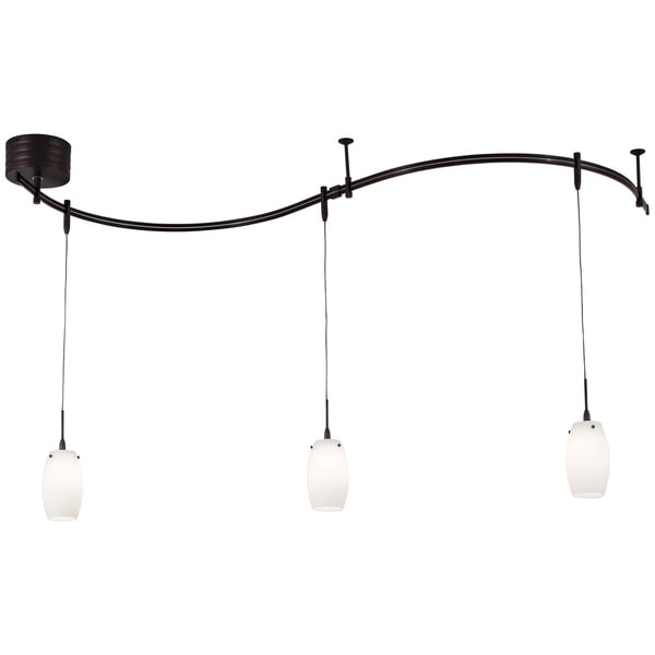Minka Kovacs Gk Lightrail 3 Light Low Voltage Mini Pendant Rail Kit - Bronze