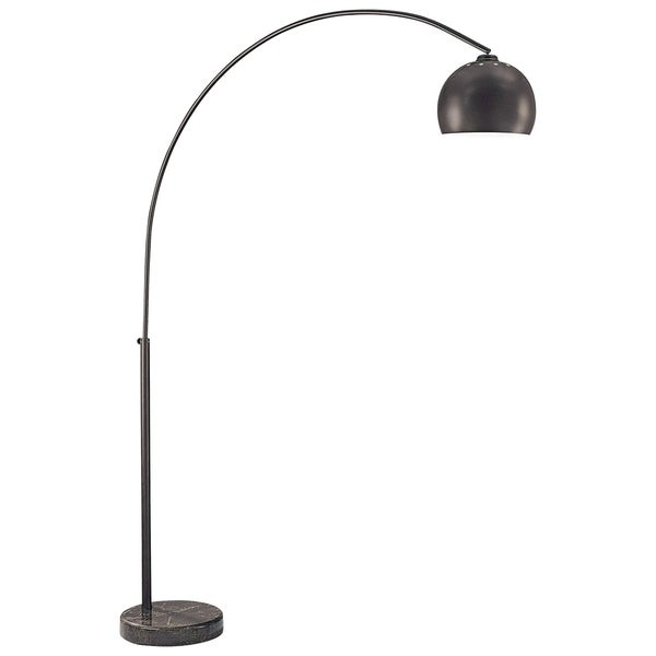 Minka Kovacs George'S Reading Room 1 Light Arc Floor Lamp