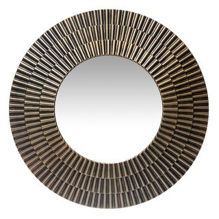 22 inch Antique Gold Wall Mirror Moreno  by Infinity Instruments - Bronze/Gold