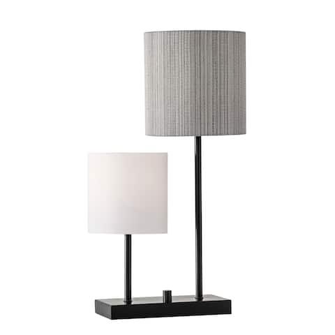 Adesso Black Aubrey Table Lamp