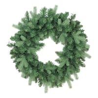 "24"" Coniferous Mixed Pine Artificial Christmas Wreath - Unlit"