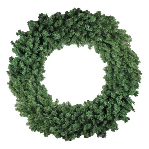 "60"" Commercial Size Colorado Pine Artificial Christmas Wreath - Unlit"