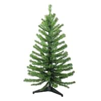 3' Two-Tone Balsam Fir Artificial Christmas Tree - Unlit
