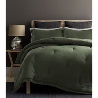 Beverly Hills Polo Club 3 Pieces Jersey Knit Comforter Set