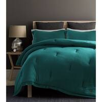 Beverly Hills Polo Club 3-piece Jersey Knit Comforter Set