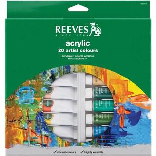Reeves Acrylic Paints 22ml 20/Pkg