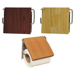 Evideco Wall Mounted Toilet Tissue One Roll Dispenser