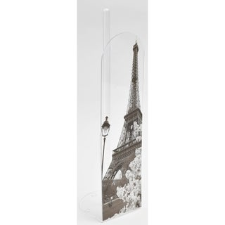 Evideco Toilet Paper Roll Holder Reserve Paris City 4 Roll