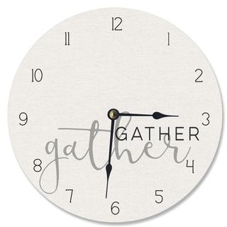 Gather Together Vanity Clock