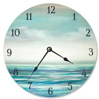 Serene Waters Vanity Clock