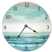 Serene Waters Vanity Clock
