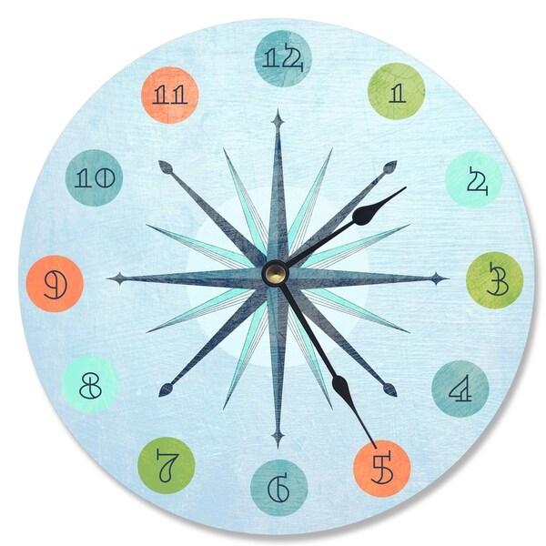 Vintage Atomic Age Vanity Clock