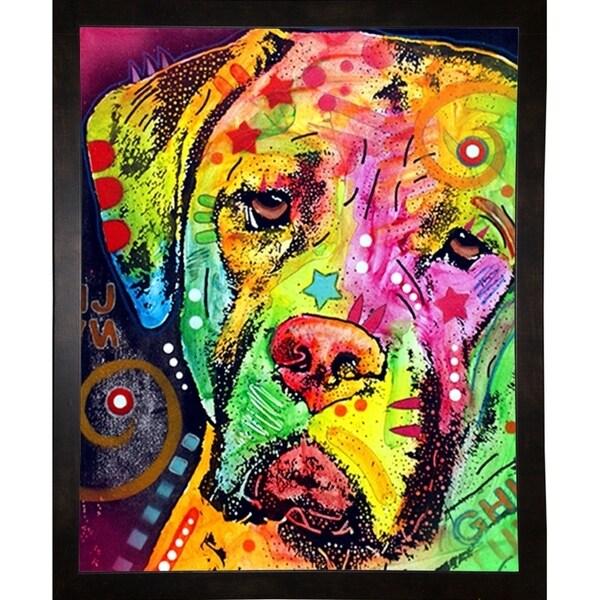 """Mastiff Framed Print 7""""x5.5"""" by Dean Russo"""