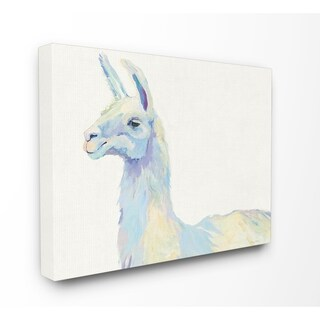 Ophelia The Llama Stretched Canvas Wall Art (3 options available)