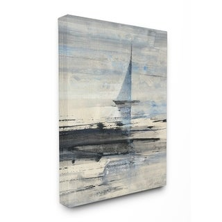 Abstract Sailing Stretched Canvas Wall Art