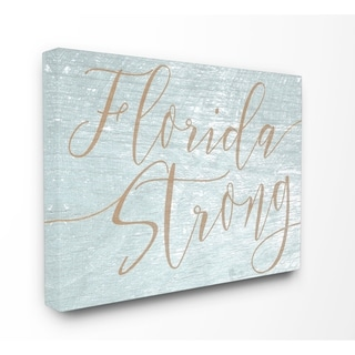 Florida Strong Stretched Canvas Wall Art